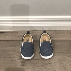 Gap Baby Chambray Shoes - Size 6-12 Months